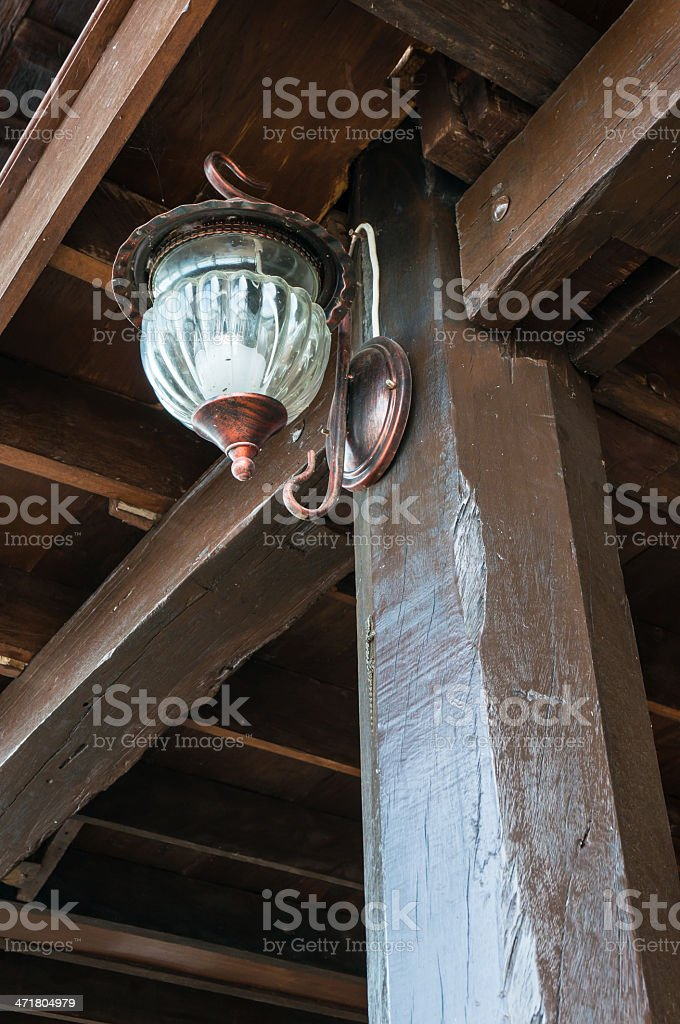 Antique lamps royalty-free stock photo