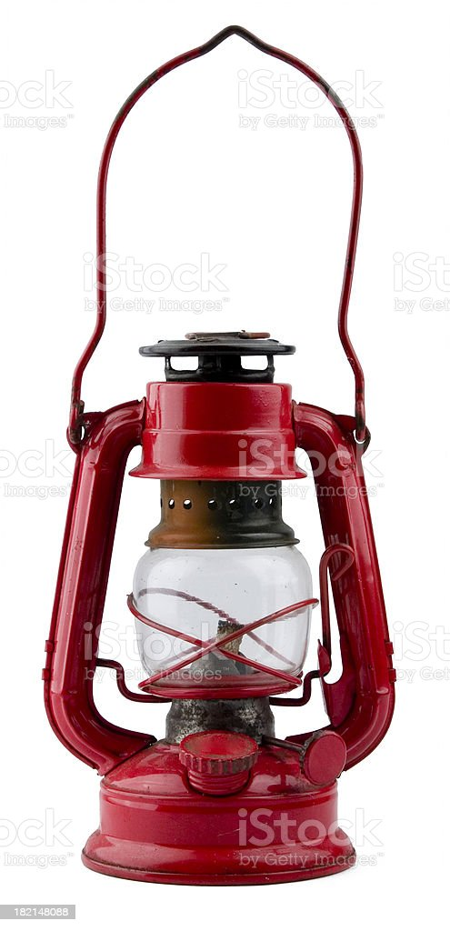 Antique lantern stock photo
