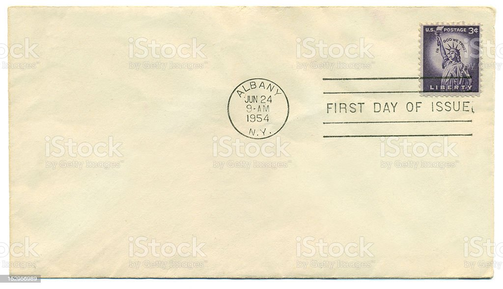 Antique Letter royalty-free stock photo
