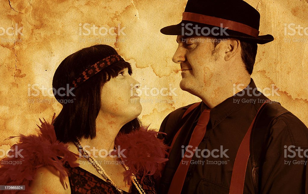 Antique Love stock photo