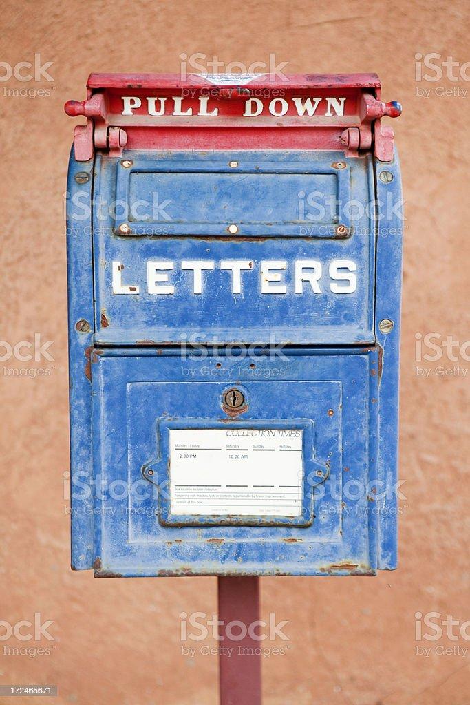 Antique Mailbox royalty-free stock photo