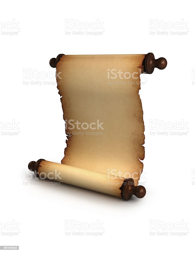 Antique manuscript royalty-free stock photo