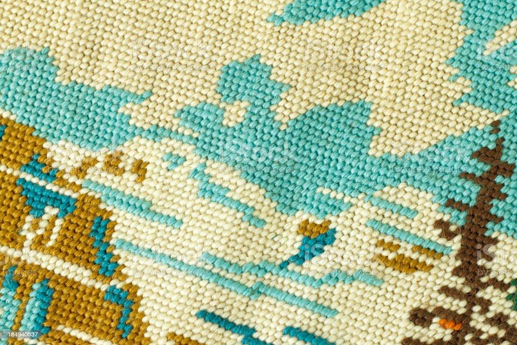 Antique Needlepoint Texture stock photo