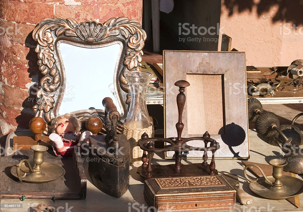 antique objects royalty-free stock photo