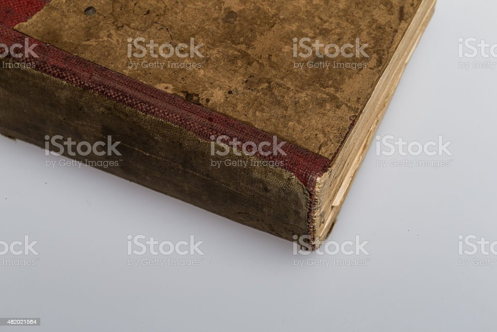 Antique old Book stock photo