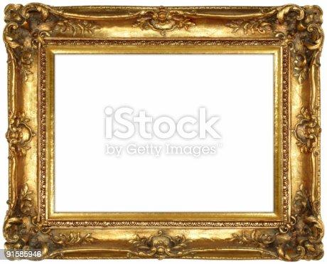 Antique Gold Leaf Frames