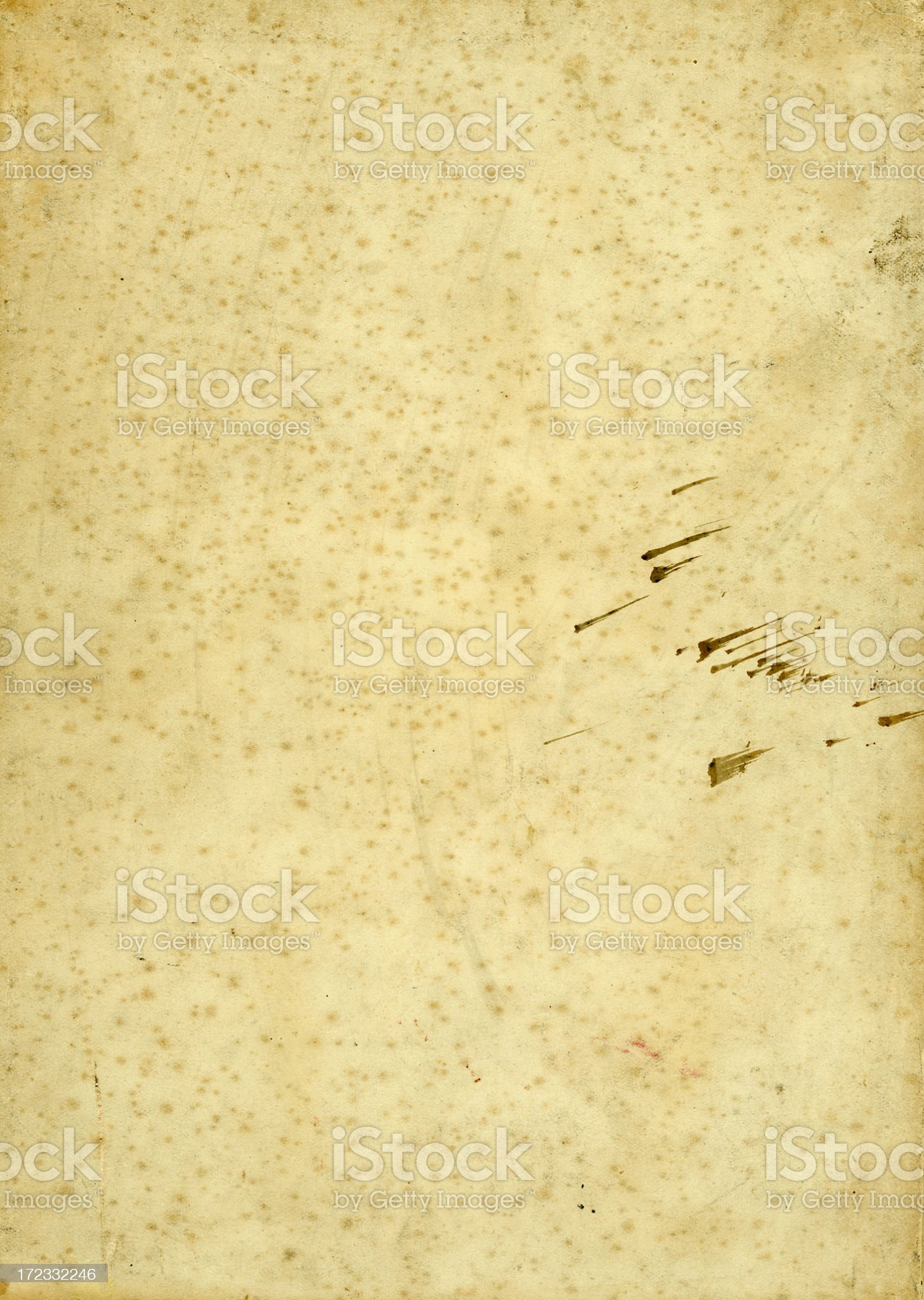 Antique paper 150+ Years Old royalty-free stock photo