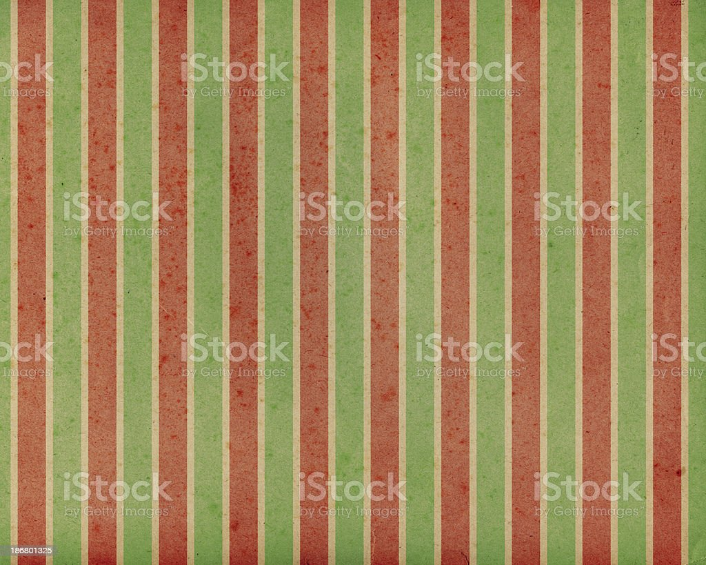 antique paper with holiday stripes royalty-free stock photo