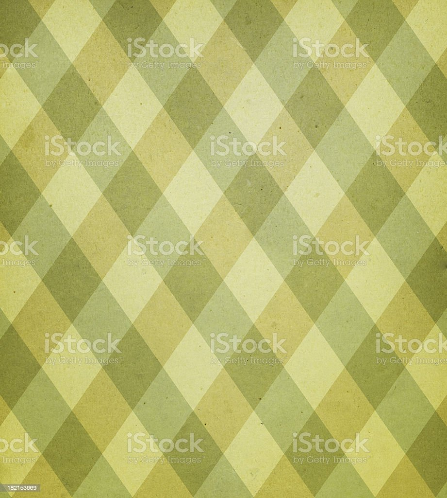 antique paper with plaid pattern stock photo