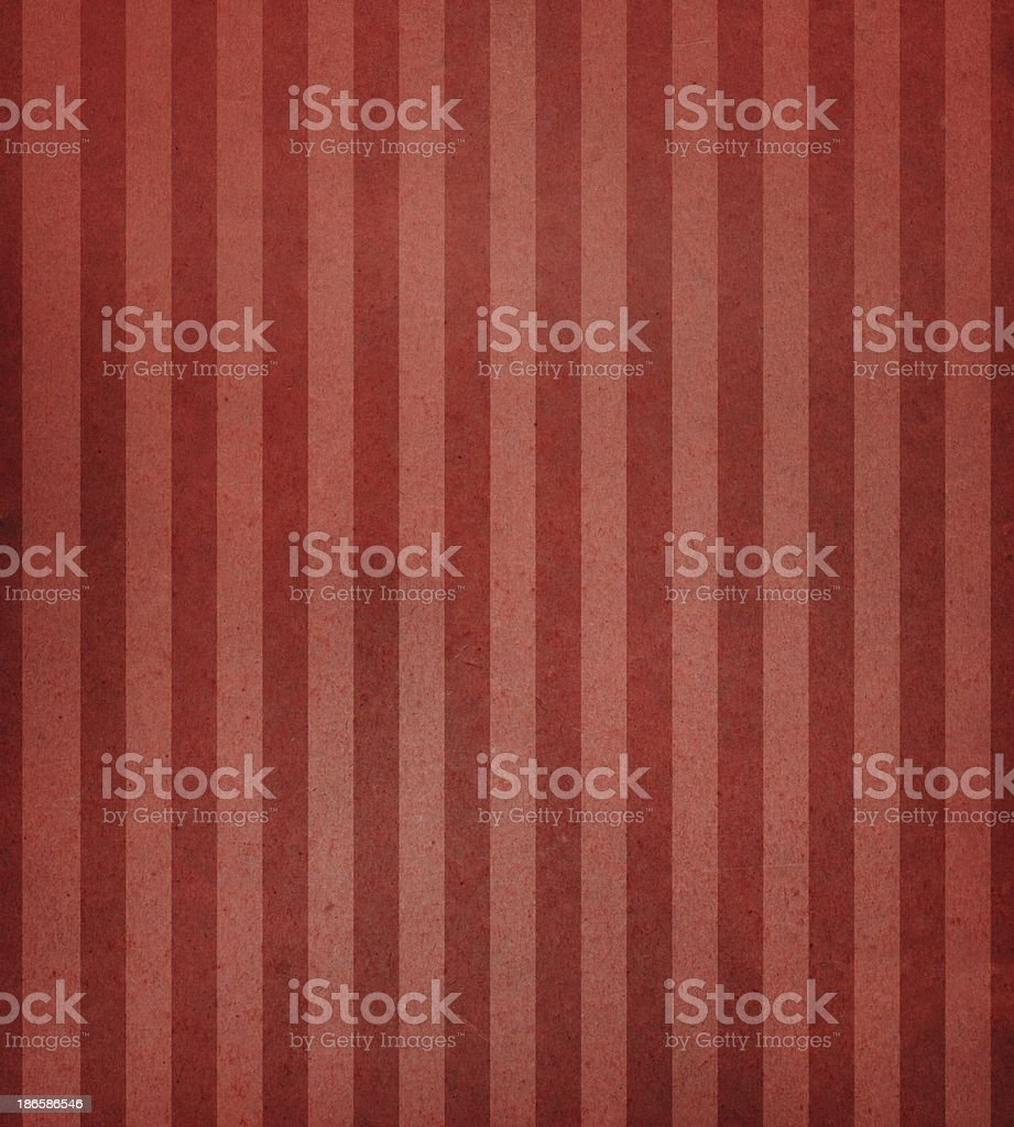 antique paper with red stripes royalty-free stock photo