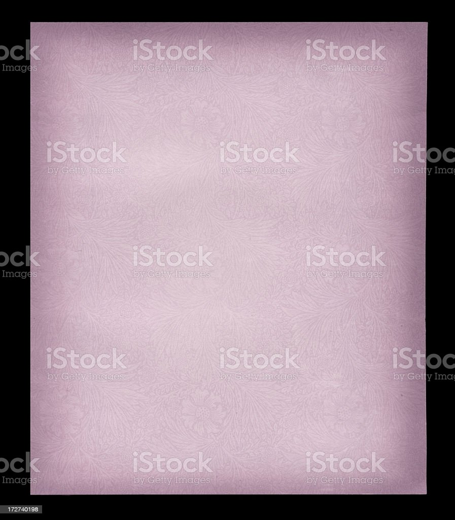 antique paper with watermark royalty-free stock photo