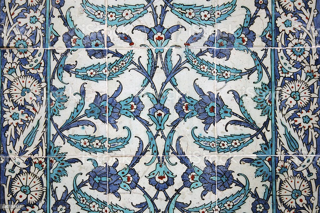 Antique pattern royalty-free stock photo