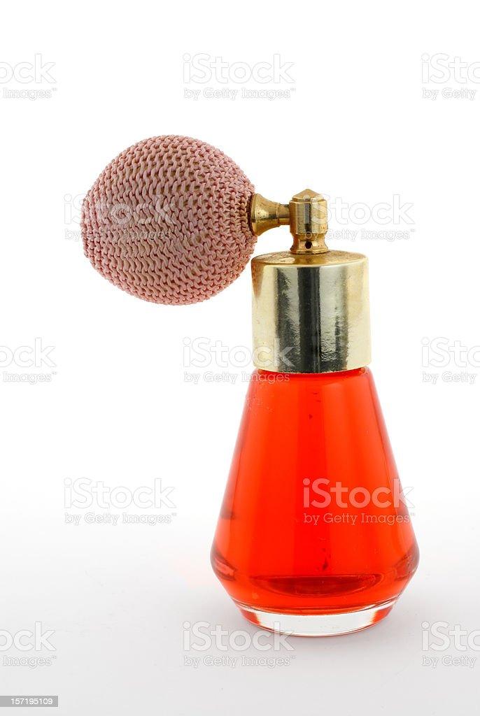 antique perfume atomizer stock photo