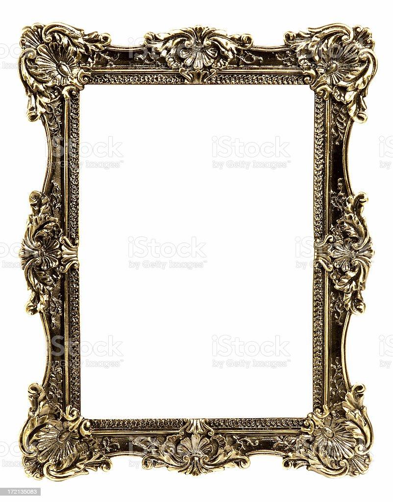 Antique photo frame royalty-free stock photo