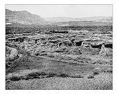 Antique photograph of city of Jericho