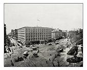 Antique photograph of Madison Square, New York
