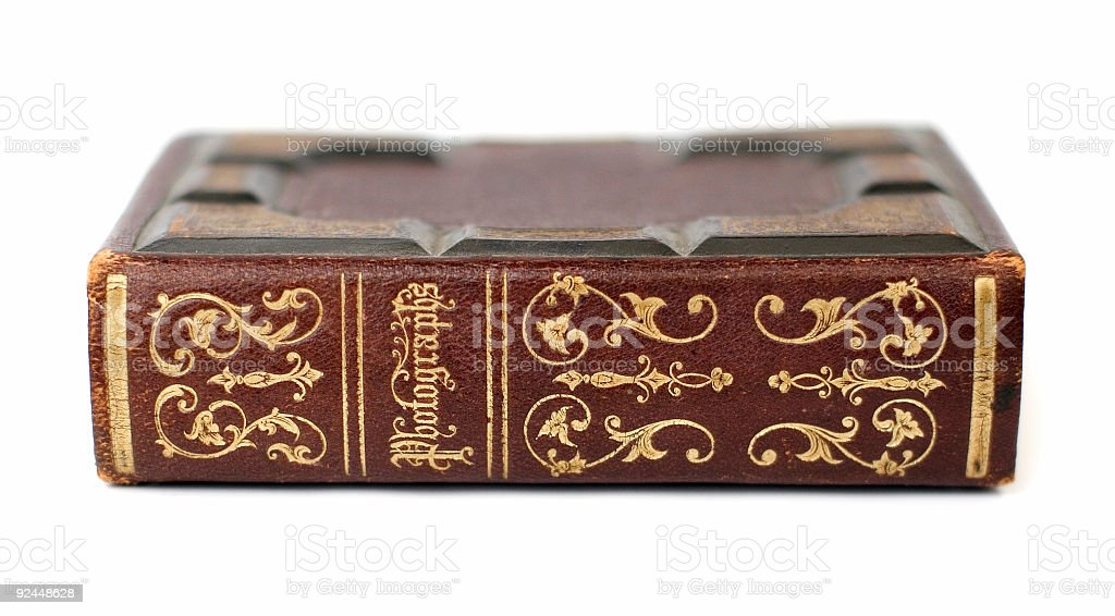 Antique Photographs Book II stock photo
