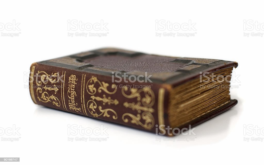 Antique Photographs Book stock photo