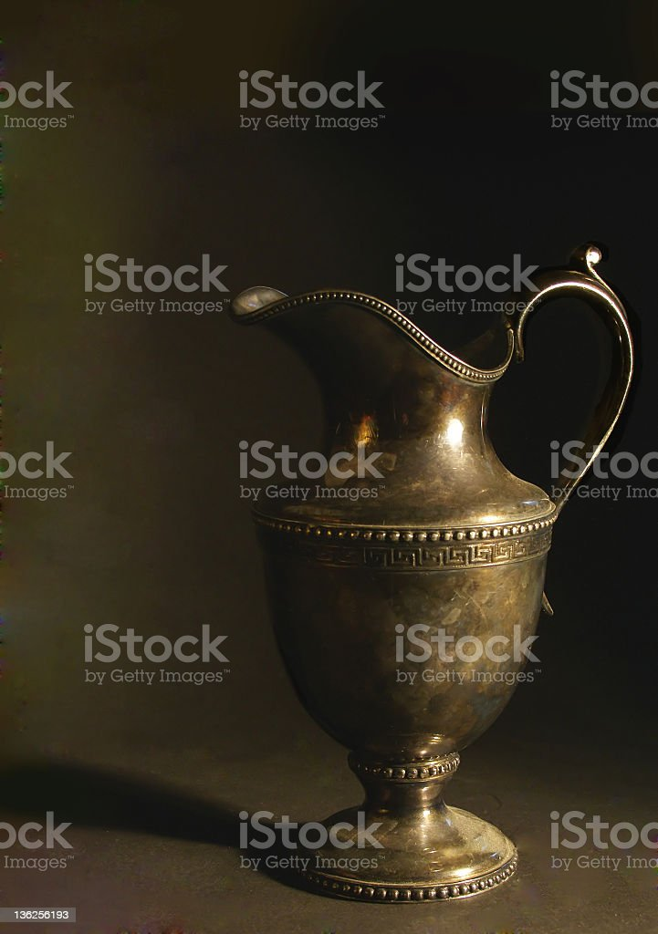 antique pitcher royalty-free stock photo