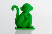 Antique Plastic Monkey