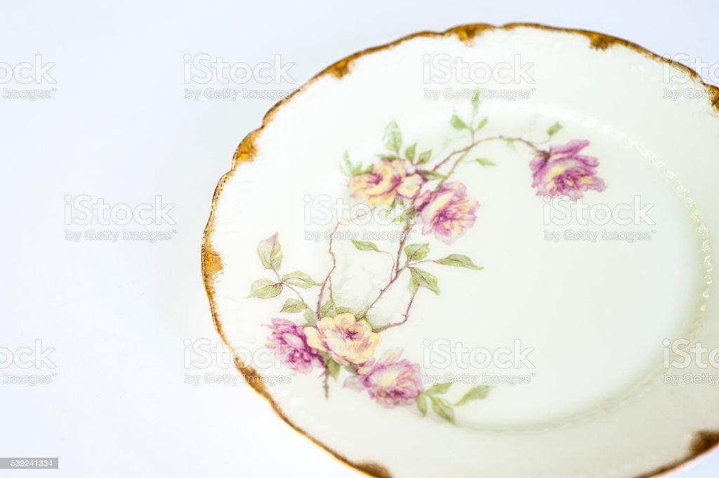 Antique Plate stock photo