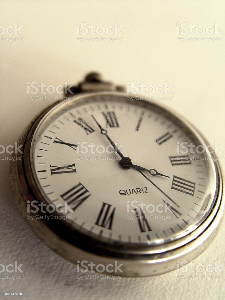 Antique pocketwatch royalty-free stock photo
