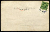 antique postcard from Sweden in 1910