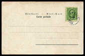 antique postcard from Sweden in early 20th century.