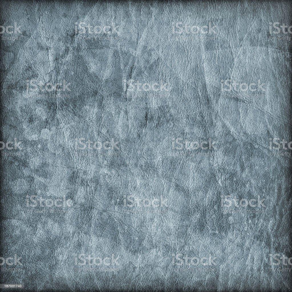 Antique Powder Blue Parchment Crumpled Mottled Vignette Grunge Texture stock photo
