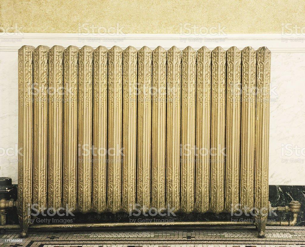Antique Radiator stock photo