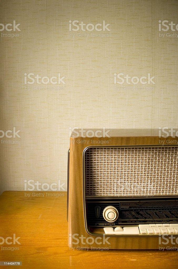 Antique Radio 1 stock photo