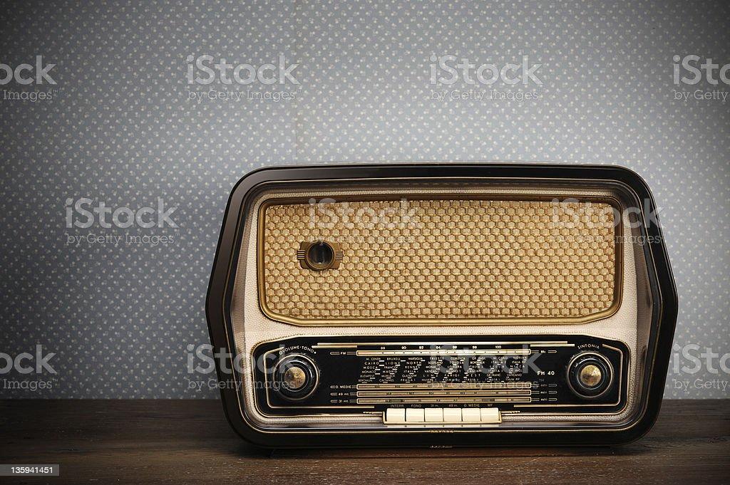 radio ancienne photo libre de droits