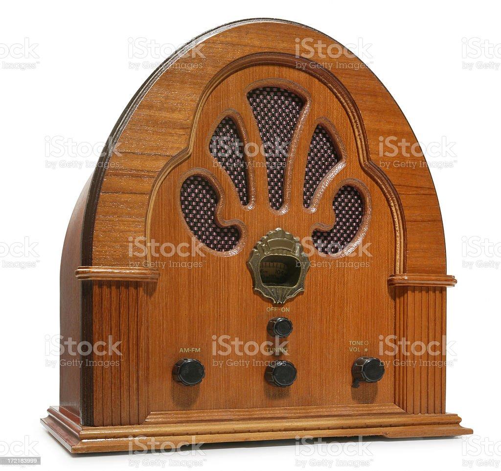 Antique Radio royalty-free stock photo