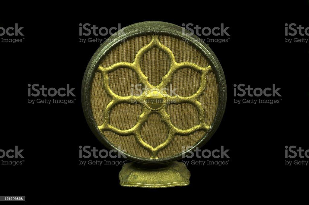 Locutor de rádio antigo foto royalty-free