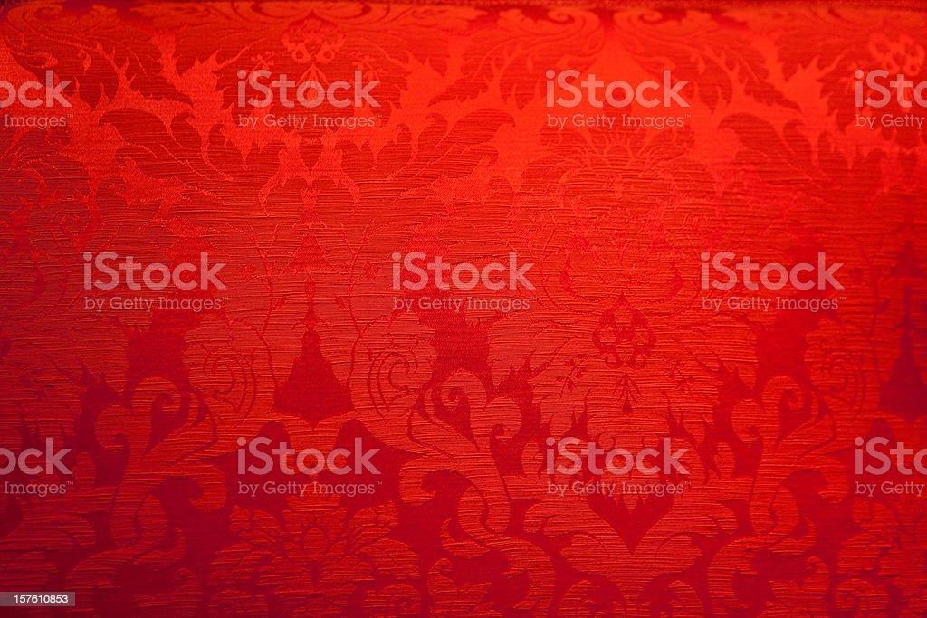 Antique red tissue stock photo