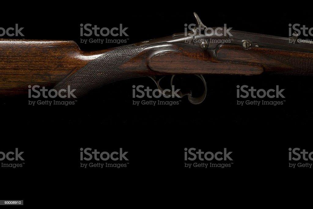 Antique Rifle royalty-free stock photo