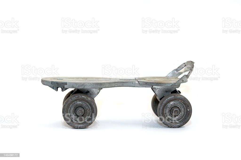 Antique Roller Skate royalty-free stock photo