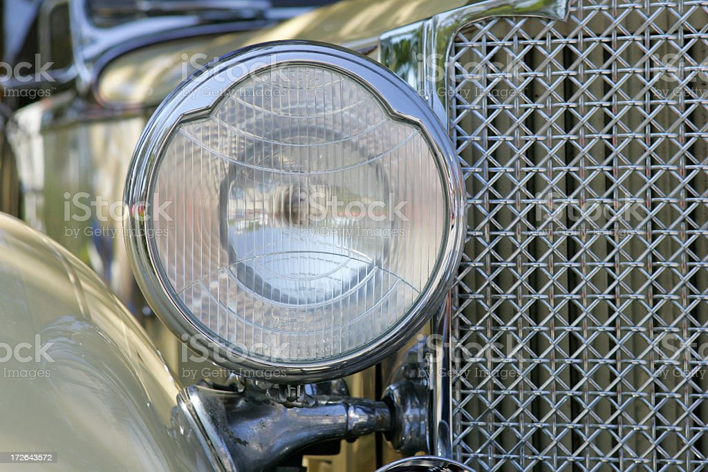 Antique Rolls Royce royalty-free stock photo