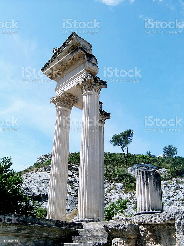 Antique ruins royalty-free stock photo