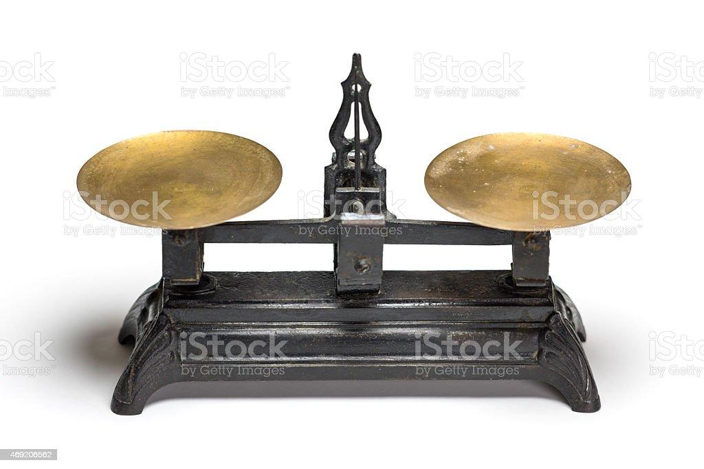 Antique Scale stock photo