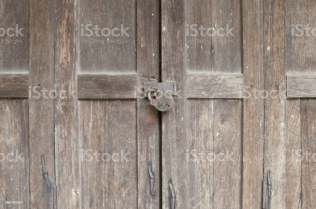 Antique Security System royalty-free stock photo
