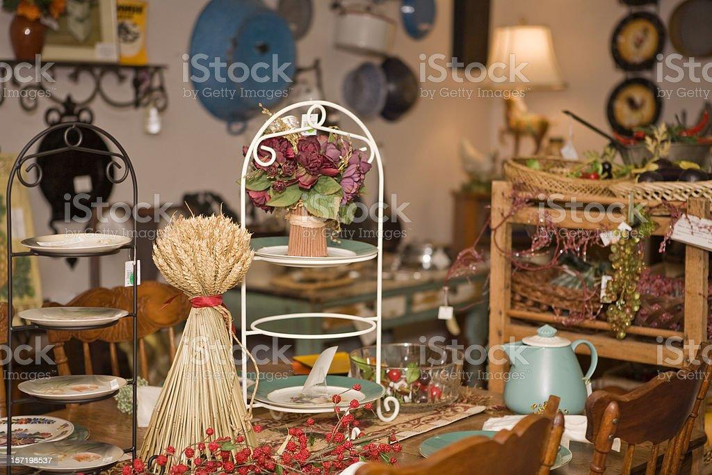 Antique Shop royalty-free stock photo