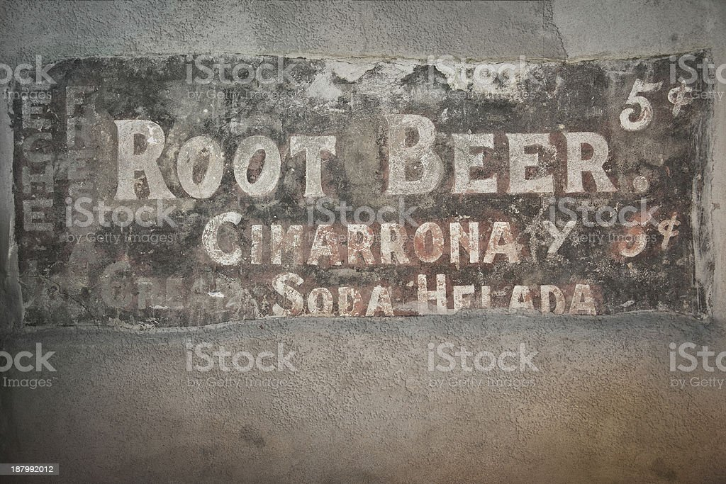 Antique Sign royalty-free stock photo