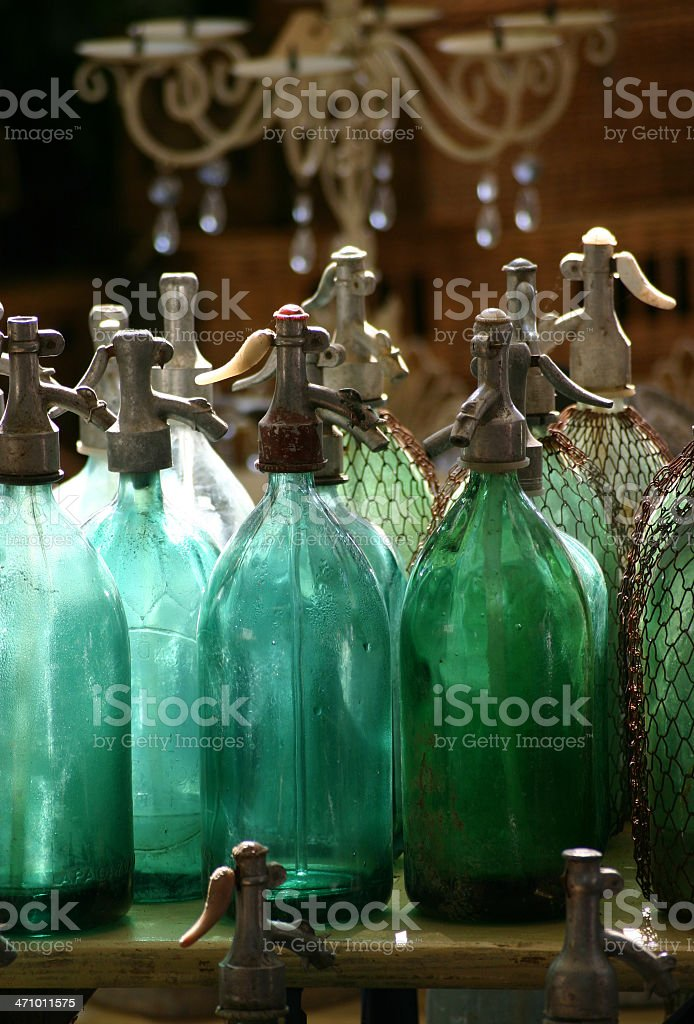 Antique siphons II royalty-free stock photo