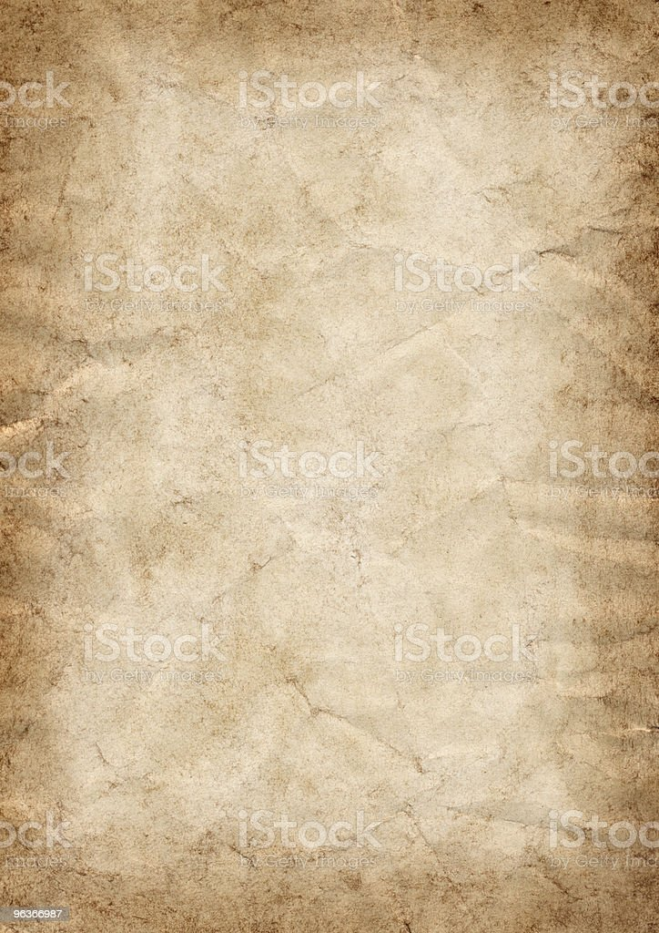 antique stained paper royalty-free stock photo