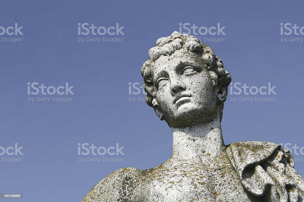 Antique statue stock photo