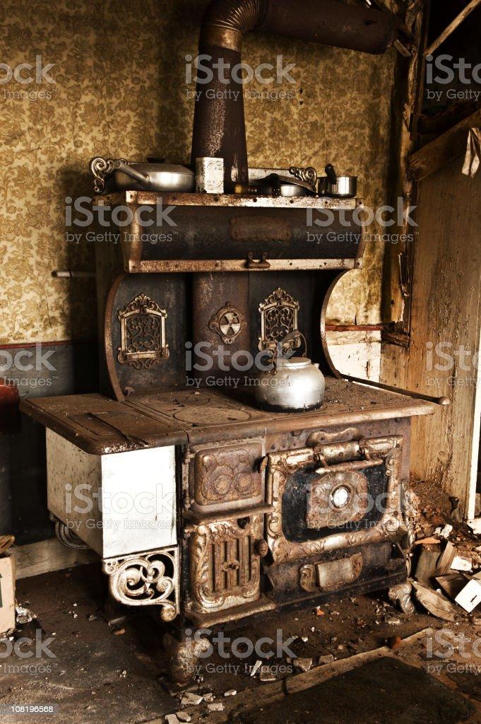 Antique Stove stock photo