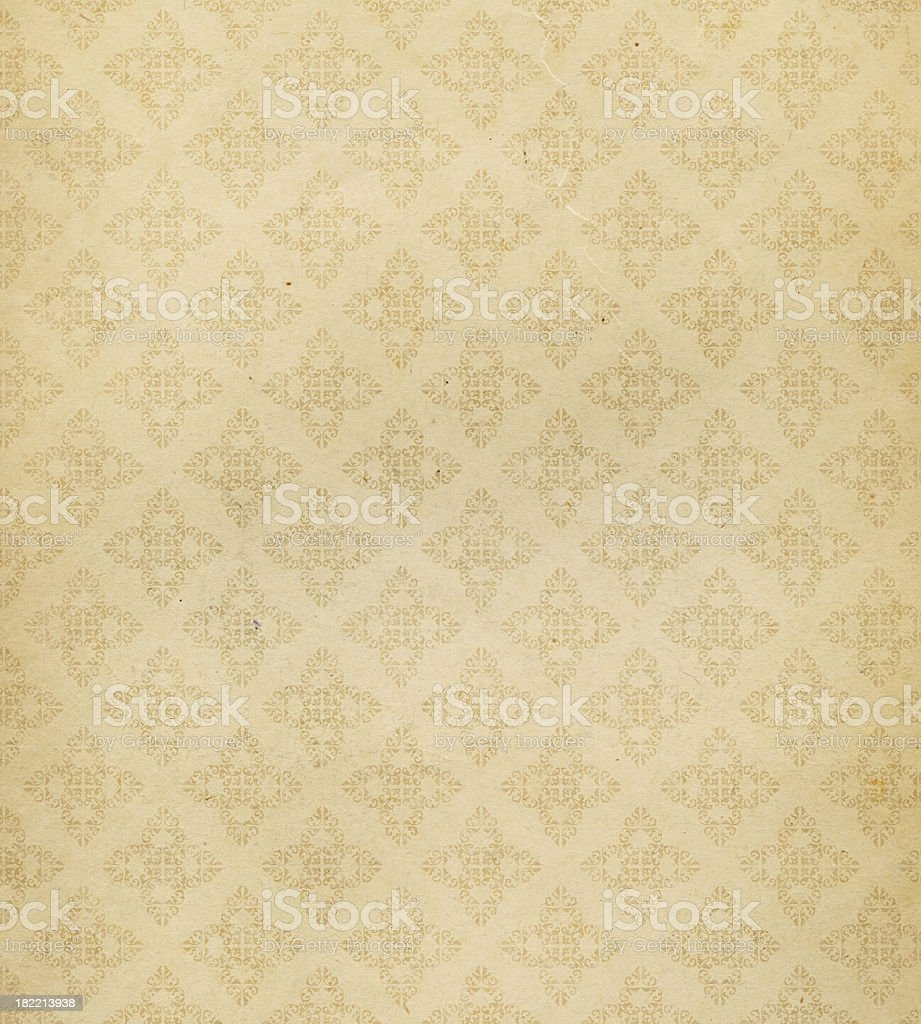 High resolution antique style wallpaper stock photo