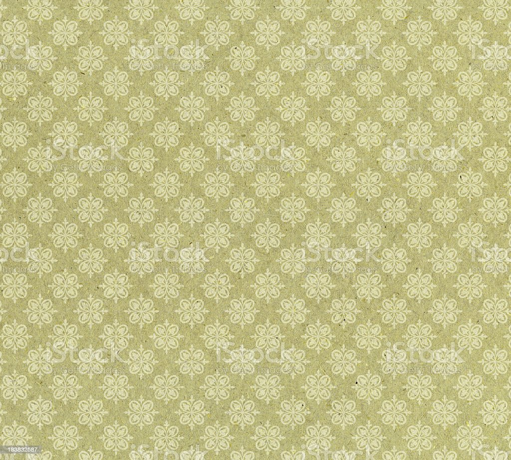 antique style wallpaper stock photo