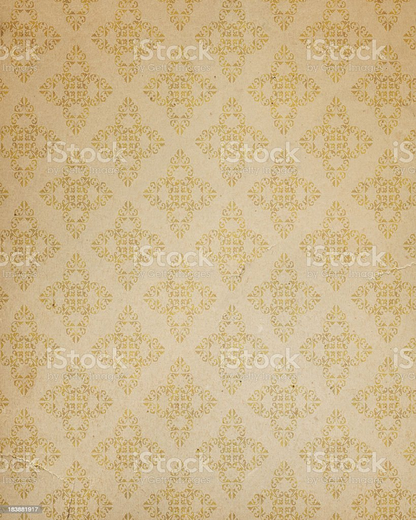 antique style wallpaper royalty-free stock vector art
